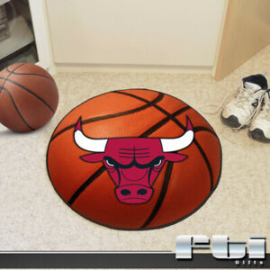 Kitchen Fanmats Chicago Bulls 30x54 Basketball Court Carpet Runner Rug