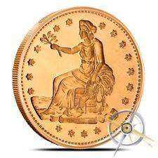 1 oz Copper Round - Trade Dollar