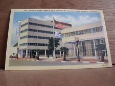 1930-40s America Postcard Columbia Square Hollywood California Free UK Post