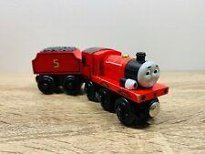 Lights & Sounds James - Thomas The Tank Engine & Friends Wooden Railway Trains