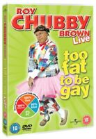 Roy Chubby Brown - Too Grasso To Be Gay DVD Nuovo DVD (8272070)