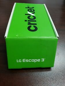 LG Escape 3 K373 LOCKED (Cricket) Blue Android 16GB 4G LTE - GOOD CONDITION