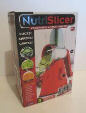 EMSON NUTRISLICER VEGETABLE & FRUIT SLICER SLICES SHREDS GRATES KITCHEN GADGET