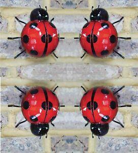 # Metal Ladybird Wall Art Decorative Summer Garden Decoration Ornament
