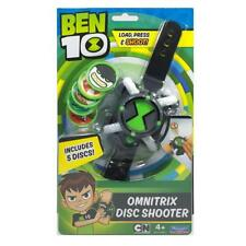 Brand New Licensed BEN 10 OMNITRIX DISC SHOOTER w/ 5 Discs - Load Press & Shoot