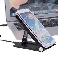 Qi Wireless Micro USB Charger Dock Stand Holder for Samsung Android HTC Phones