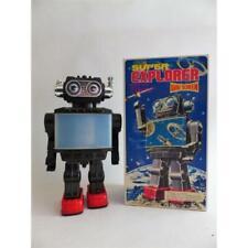 Robot Métal vintage - Super explorer wide screen - SH Orikawa