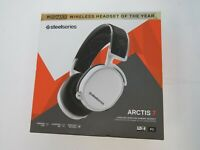 SteelSeries Arctis 7 White (2019 Edition) Headband Headset for PC and PS4