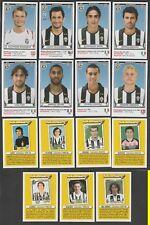 13 FIGURINE CALCIATORI PANINI AGGIORNAMENTI 2010-11 JUVENTUS NUOVE