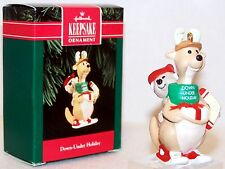 1992 NEW Hallmark Ornament DOWN UNDER HOLIDAY Kangaroos QX5144 MINT Never Used