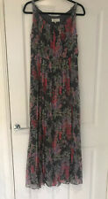BNWOT LAURA ASHLEY OCCASSION SILK FLORAL MAXI DRESS WEDDING PARTY SIZE 12