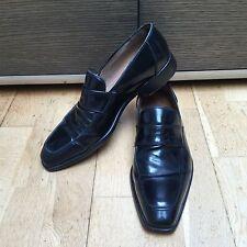 Top qualité LIDFORT Noir Enfiler Chaussures SZ 8