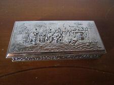 wunderschöner Dose , 17x8x2,5 cm aus Holland 90 silber punziert top zustand