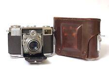 F97036~ Zeiss Contessa 35 Camera– 45mm f2.8 Opton Tessar T – Exposure Counter?