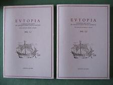 """EUTOPIA"" QUASAR 1992 I, 1/2 ATTI ""ROMA E LE CAPITALI EUROPEE DELL'ARCHEOLOGIA"""