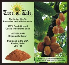 Cocoa 100% Cacao 8oz Organic Bulk Pricing Super Low Fat
