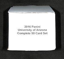 2016 Panini_University of Arizona_Complete 50 Card Set_Rob Gronkowski