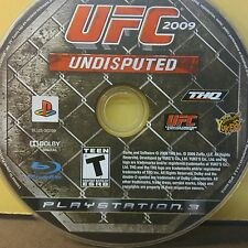 UFC UNDISPUTED 2009 (PS3) USED AND REFURBISHED (DISC ONLY) #10912