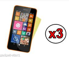 3x HQ MATTE ANTI GLARE SCREEN PROTECTOR COVER FILM GUARD NOKIA LUMIA 630 / 635
