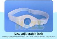 Bolsa de ostomía adhesiva Cinturón reforzado Estoma estable extensible