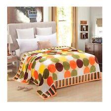 Two-side Blanket Bedding Throw Coral fleece Super Soft Warm Value 200cm 40