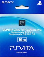 100% Genuine Sony PS Vita 16GB Memory Card BRAND NEW SEALED