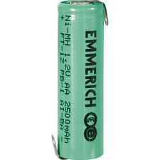 2x Emmerich 255029 NiMH AA Size 1.2V 2500mAh Rechargeable Battery Tagged