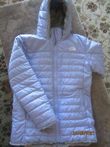 The North Face Girls Purple Snow Ski Jacket Coat Waterproof Size XL