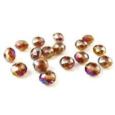 Topaz Rondelle Jewellery Making Craft Beads
