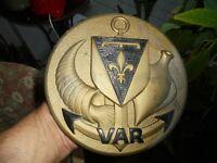 Tape de Bouche 1.360kg Bronze à l'Encre Marine Amphore & Corne d'Abondance VAR