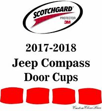 3M Scotchgard Paint Protection Film Clear Bra Pre-Cut 2017 2018 Jeep Compass