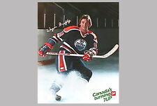 WAYNE GRETZKY Vintage Original Edmonton Oilers 1982 Feelin' 7-Up POSTER
