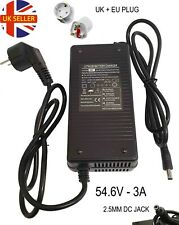 Li-ion lithium Battery Charger Electric Bicycle e-bike 13S 48V 54.6V 2.5A - UK