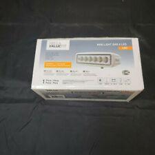 New listing Hella Marine Value Fit Mini 6 Led Flood Light Bar White 357203051 Nib