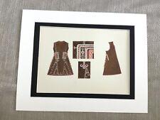 Antique Costume Print Bulgarian Women's Ethnic Vest Shirt Historical Fashion