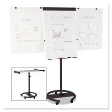 MasterVision 360 Multi-Use Mobile Magnetic Dry Erase Easel - EA4806156