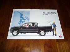 Mitsubishi L 200 HARD TOP Prospekt 11/1993