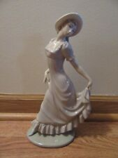 Vintage Nao by Lladro Daisa,Pretty Lady Figurine,1980,Used,11 1/2 in.high