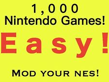 NES Classic Edition Mini Modded Flash Drive of 1000 Games! MOD Your Console!