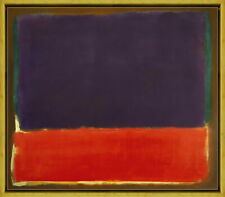 Framed Mark Rothko Number 14 Giclee Canvas Print Paintings Poster Reproduction