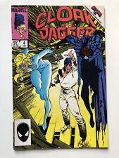 Cloak And Dagger #4 Vintage Marvel Comics