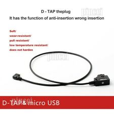 ZATAY D-Tap V Battery to Micro USB Adapter Cable N Power Cable For Follow Focus