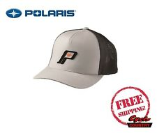 POLARIS RETRO HAT CAP BASEBALL RZR RMK SPORTSMAN ACE TRUCKER GRAY BLACK ORANGE
