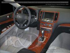 Dash Trim Kit for INFINITI G 07 08 carbon fiber wood aluminum