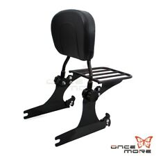 Quick Detachable Sissy Bar With Luggage Rack For Harley Dyna Super Glide FXD