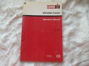 CASEIH International 235 235H tractor operator's manual
