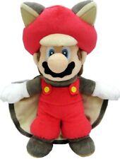 "Super Mario Bros. Flying Squirrel Musasabi Mario Plush Doll Stuffed Baby Toy 10"""