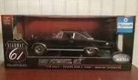 Highway 61 1967 Plymouth GTX Black Belvedere 1:18 Scale Diecast Model Car