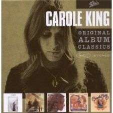 """CAROLE KING """"ORIGINAL ALBUM CLASSICS"""" 5 CD BOX NEU"""