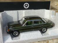NOREV B66040654 - Mercedes Benz 200 berline de 1980 W123 au 1/18 VERT CYPRESS